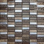 L1160- мозаика мрамор и стекло